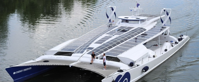 Découverte du bateau Energy Observer